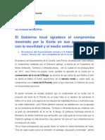 20-10-11 Actividad Municipal_presupuestos de La Xunta