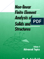 Crisfield M a Vol 2 Non-Linear Finite Element Analysis of Solids and Structures Advanced Topics
