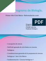 Programa de Biología