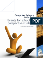 Computer Science at Oxford Events 2011 (Fv)