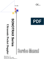 Sonotrax vascular doppler fdating