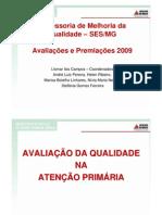Apresentação prêmios -  Qualidade - 2009