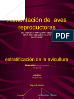 Alimentacion de Aves Re Product or As