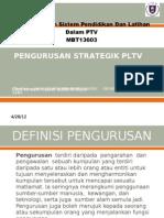 pengurusan strategik PLTV