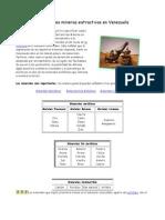 Actividades Mineras Extractivas en Venezuela