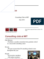 MIT Consulting Club Case Tips