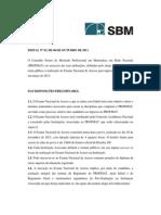 Edital Exame Nacional PROFMAT 2012