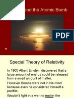 Einstein and the Atomic Bomb