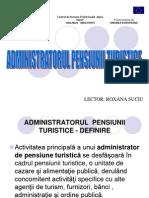 Atributii Admin Pensiune Si Definire Pensiune