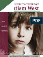2011 Autism West Brochure