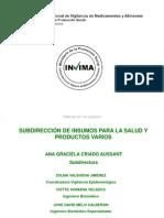 Presentación Tecnovigilancia IPS 2010 - INVIMA
