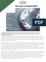 Articulo - Hacia Una ad Global - Ley Niif-julio 2011