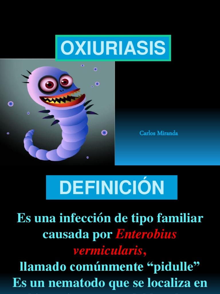 oxiuriasis definíció)