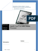 Arhitectura Sistemelor de Calcul - Intel Core I5 540m Mobile Processor