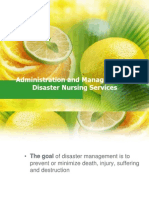 Ppt on Disaster