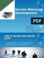 Human Resource Development Ppt