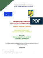 Tehnologii Specifice in Industria a Fermentativa (1)