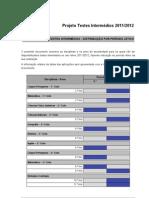 Testes intermédios 2011-2012
