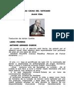 André Gide Las cavas del Vaticano