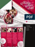 Ramada Heathrow Christmas Brochure 2011