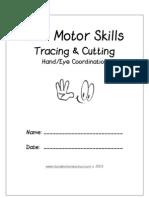 Motor Skills Cutting & Tracing 1