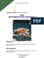 Guia de Instrumentacion Quirurgica