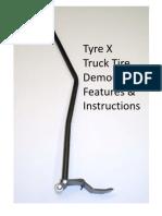 Pneu-Tek Truck Demounter How To