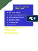 BAB 11-Senyawa Kompleks & Polimer