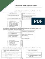 Gceol Model Paper