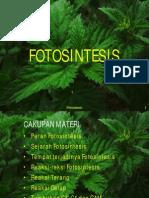 Kuliah 4 Fotosintesis (Non)