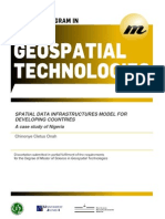 Spatial Data Infrastructures Model for Developing Countries