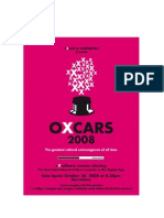 The Oxcars for a Free Culture