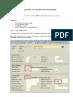 MRP Reorder Point Planning