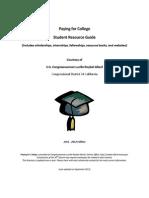 OSFA Scholarship Guide 2011-2012