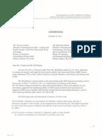 Dawson Letter