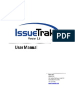 User Manual - IssueTrak 9.6