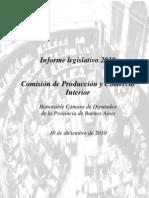 Informe Final de Com. de Prod. y Comercio Int.