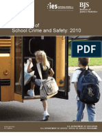 Indicators of School Crime and Safety 2010