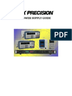 BK Precision Power Supply Guidebook