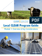 Local CLEAN Program Guide - Module 1 - Overview and Key Considerations AC_67 3 Oct 2011