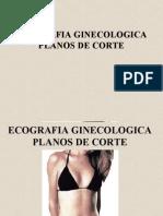 Ecografia Planos de Corte Ginecologico