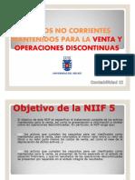 IFRS 5 ACTIVOS CORRIENTES