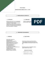 Ficha Tecnica Adhesivo Para Pvc