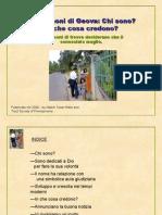 Geova testimoni incontri linee guida