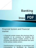 Banking and Insurance
