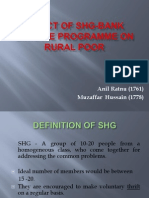 Impact of Shg-bank Linkage Programme of Rural Poor