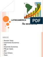 LATINOAMÉRICA. CRECIMIENTO Y DESARROLLO ECONÓMICO