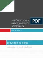 Uninter - BD2 - sesión 20 - seguridad datos