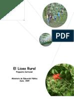Propuesta Liceo+Rural