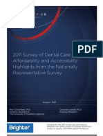Dentistry Indicators Summary